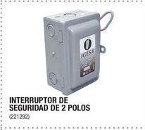 Oferta de Interruptor De Seguridad De 2 Polos por