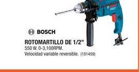 """Oferta de Rotomartillo De 1/2"""" Bosch por"""