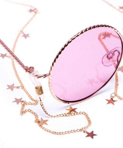Oferta de Cadena para lentes estrellas por $149
