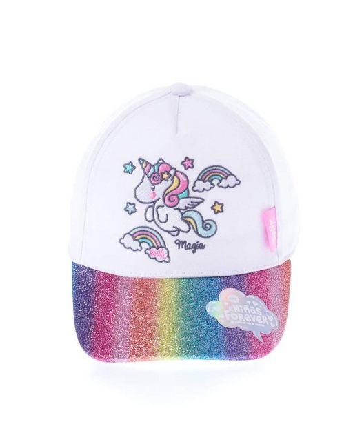 Oferta de Gorra de unicornio arcoíris por $109