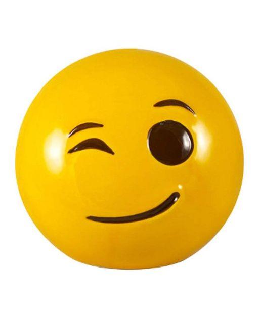 Oferta de Alcancía Emoji Guiño por $89