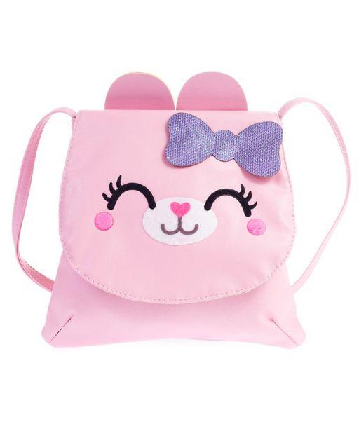 Oferta de Bolsita cruzada gatito rosa por $269