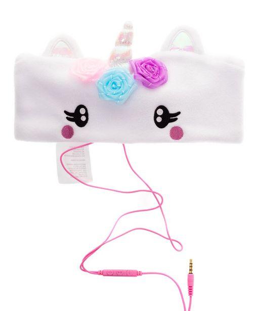 Oferta de Banda con audífonos unicornio por $209