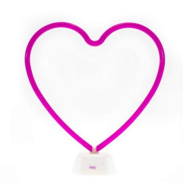 Oferta de Lampara Led Corazón por $199