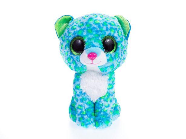 Oferta de Peluche leopardo azul con verde por $229