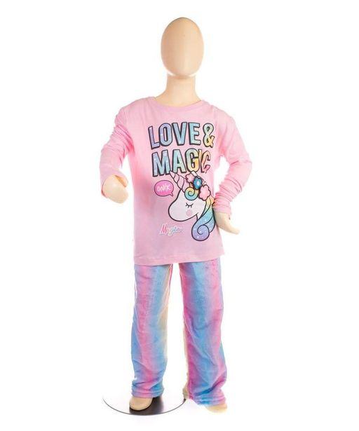 Oferta de Pijama dos piezas Magia el unicornio por $449