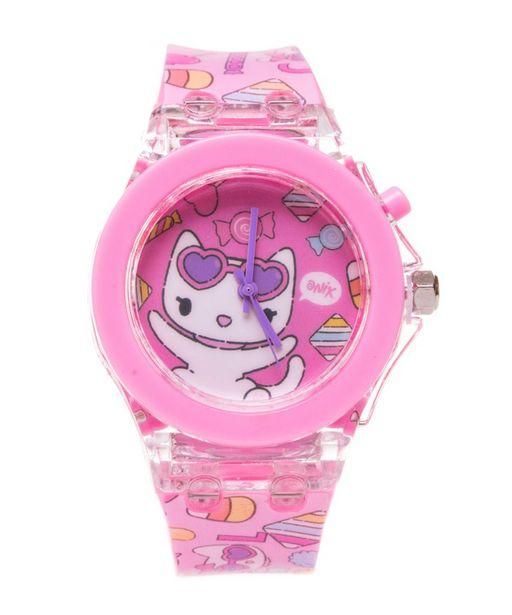 Oferta de Reloj con Luz de Misty la gatita por $199