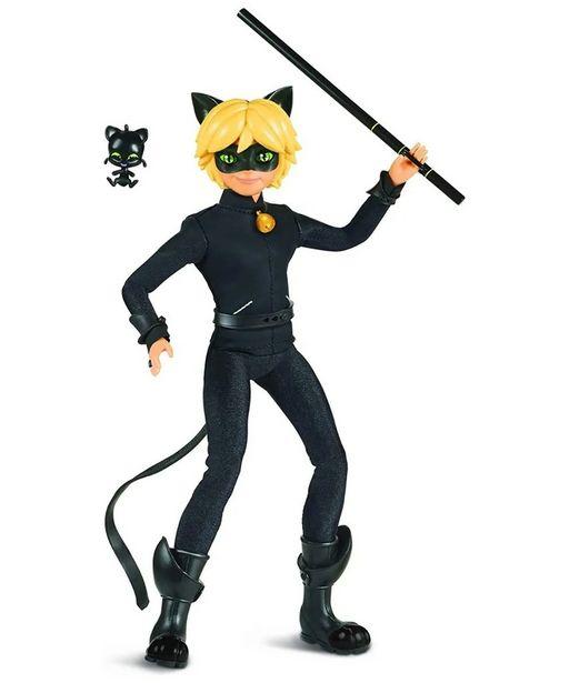 "Oferta de Ladybug Miraculous ""Cat Noir"" Doll Articulado por $579"