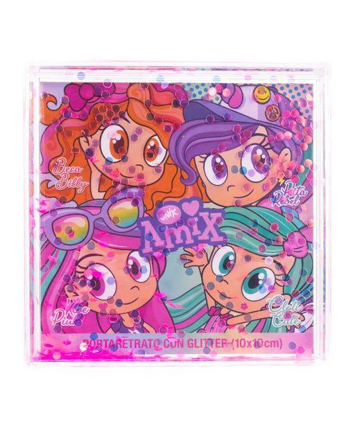 Oferta de Portaretrato Con Glitter Rosa por $69