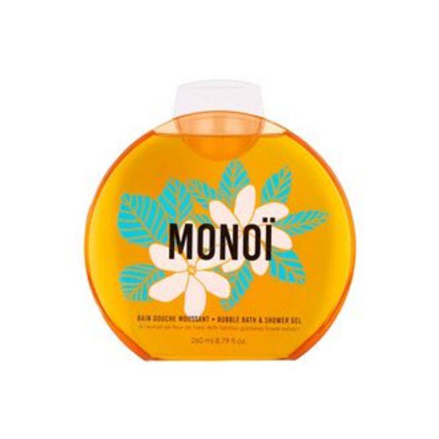 Oferta de BUBBLE BATH & SHOWER GEL MONOI  260ML por $151