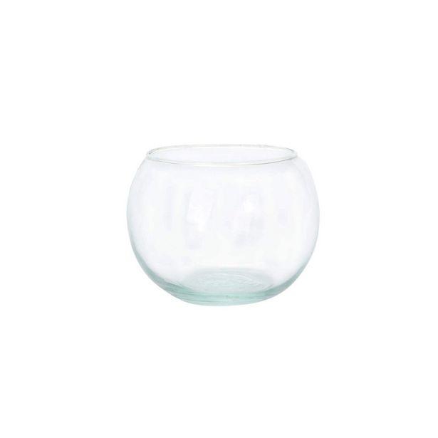 Oferta de  Pecera De Cristal #4 7.5x10cm 1pz por $26.8