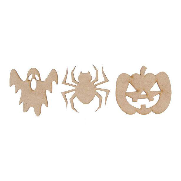 Oferta de  Figuritas Halloween 5cm 3pz por $11.85