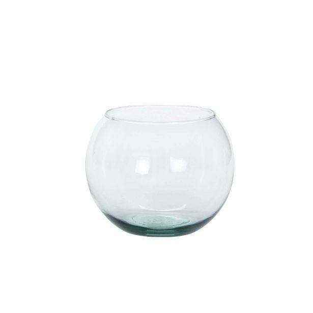 Oferta de  Pecera Cristal 11.5x15x15cm 1pz por $31.3