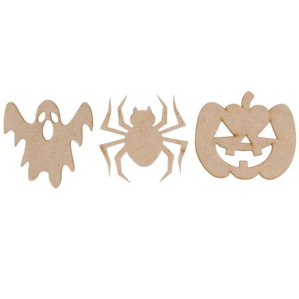 Oferta de  Figuritas Halloween 8cm 3pz por $18.4