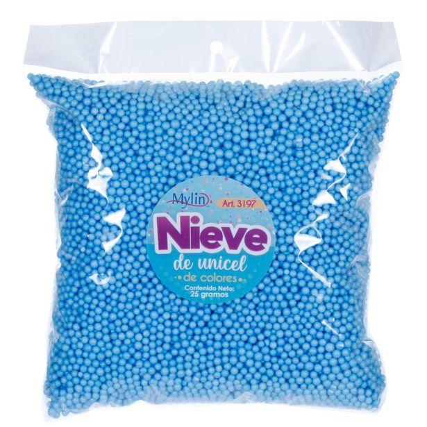 Oferta de  Nieve De Únicel Colores Bolsa 25g 1pz por $33.8