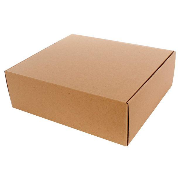 Oferta de  Caja Cartón 11x35x30cm 1pz por $56.3
