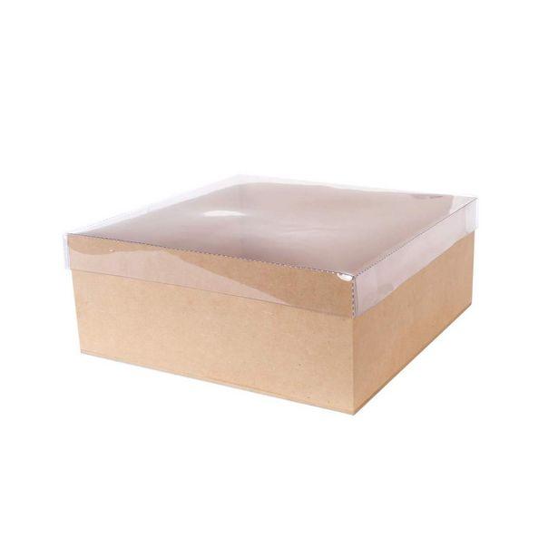 Oferta de  Caja Con Tapa Transparente 10x25cm 1pz por $85.1
