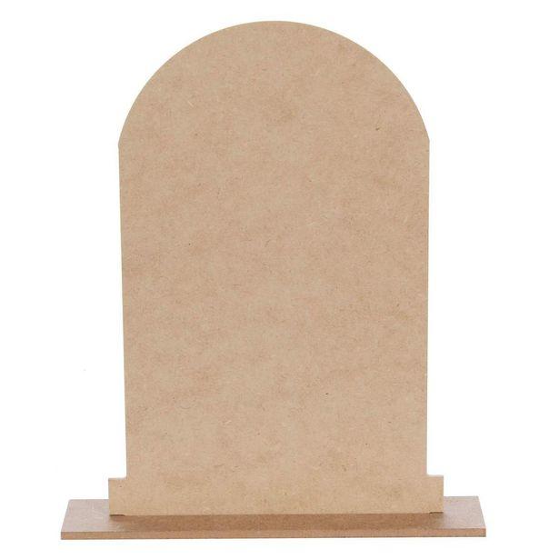 Oferta de  Lapida Madera 27x22.5x5cm 1pz por $24.4