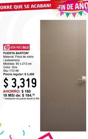 Oferta de Puerta Barton por $3319
