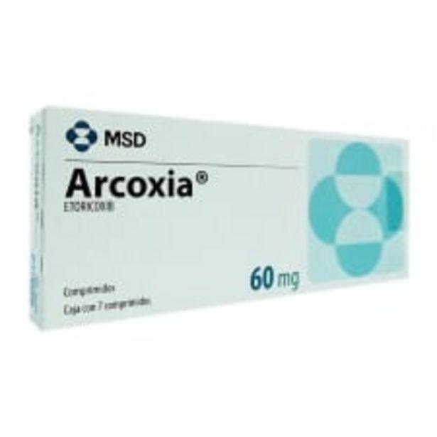 Oferta de Arcoxia 60 mg comprimidos 7 pzas por $639