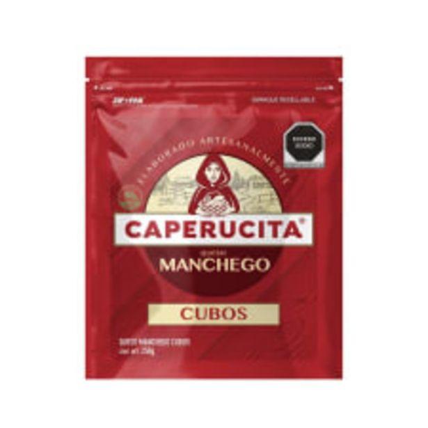 Oferta de Queso manchego Caperucita en cubos 250 g por $61.5