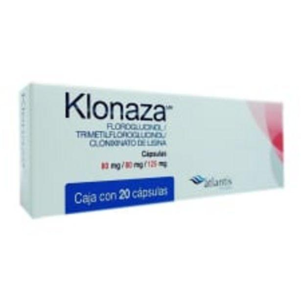 Oferta de Klonaza cápsulas 10 pzas por $276