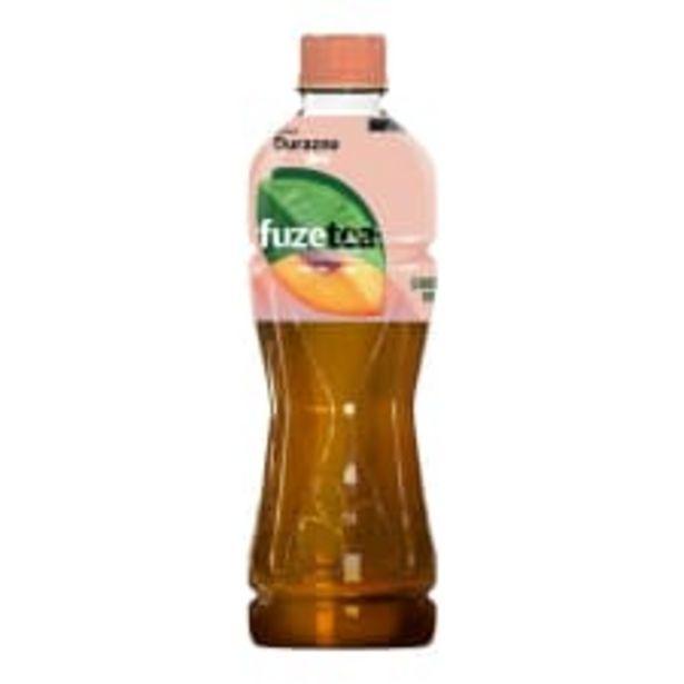 Oferta de Té negro Fuze Tea sabor durazno 600 ml por $13