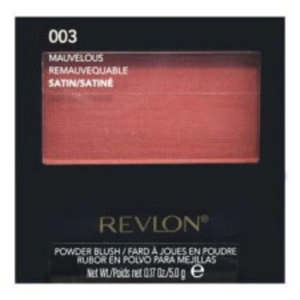 Oferta de Rubor en Polvo Revlon 003 Mauvelous 5.0 g por $191