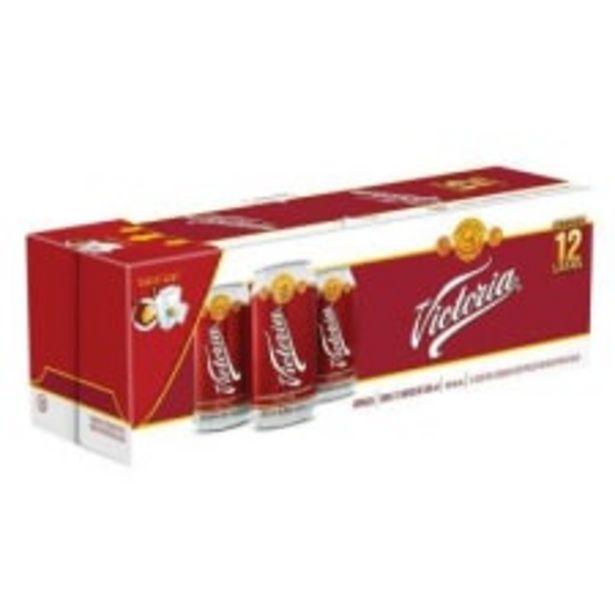 Oferta de Cerveza oscura Victoria 12 Latas de 355 ml c/u por $145