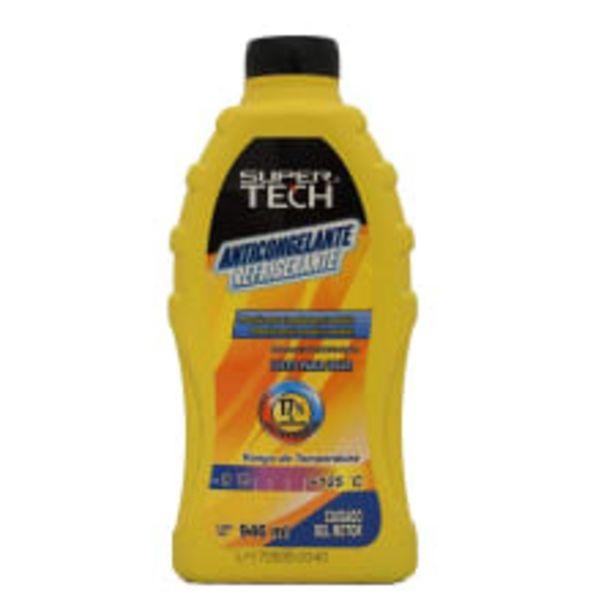 Oferta de Anticongelante refrigerante Super Tech protección contra corrosión y oxidación 946 ml por $20