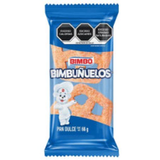 Oferta de Bimbuñuelos Bimbo 66 g por $11.5