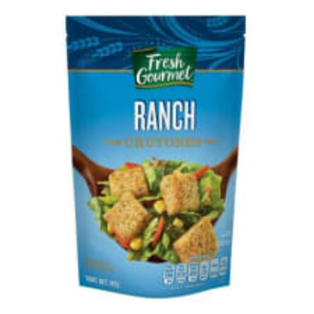 Oferta de Crutones Fresh Gourmet ranch 142 g por $39.9