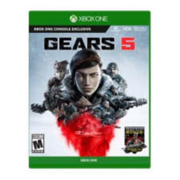 Oferta de Gears of War 5 Xbox One por $296