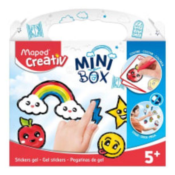 Oferta de Mini Box Maped Creativ Estampas de Gel por $76