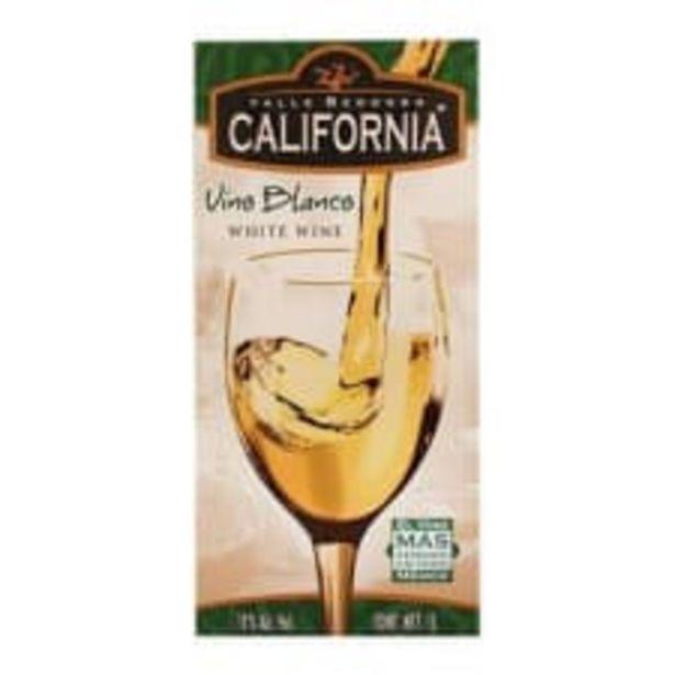 Oferta de Vino blanco Valle Redondo California 1 l por $49