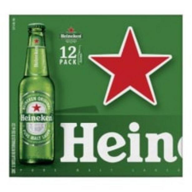 Oferta de Cerveza clara Heineken 12 botellas de 355 ml c/u por $234