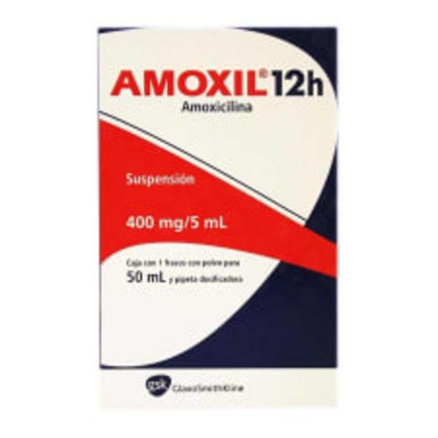 Oferta de Amoxil 12h 400 mg suspensión 50 ml por $150