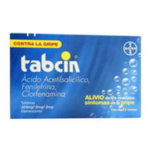 Oferta de Antigripal Tabcin 324 mg/ 8 mg/ 2 mg 12 tabletas por $24