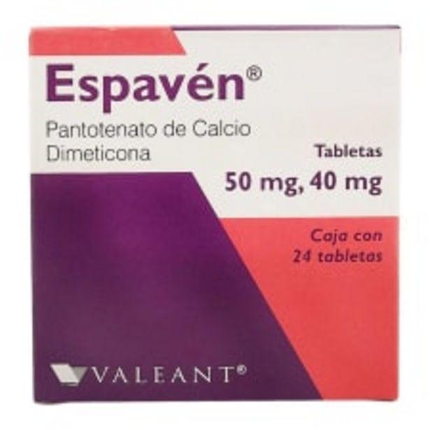 Oferta de Espavén 50 mg/40 mg tabletas 24 pzas por $114