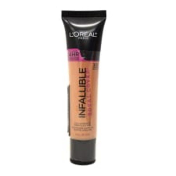 Oferta de Base de maquillaje L'Oréal Paris Infallible Total Cover 307 sand beige 30 ml por $199