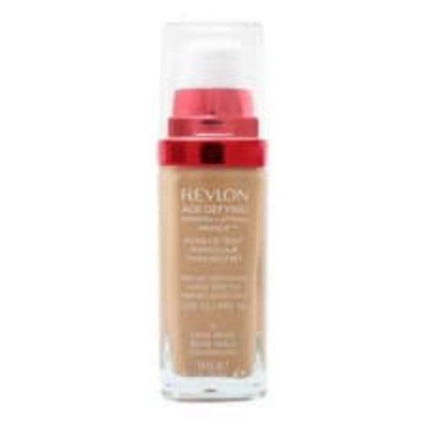 Oferta de Maquillaje Revlon Age Defying Líquido 25 Sand Beige 30 ml por $263