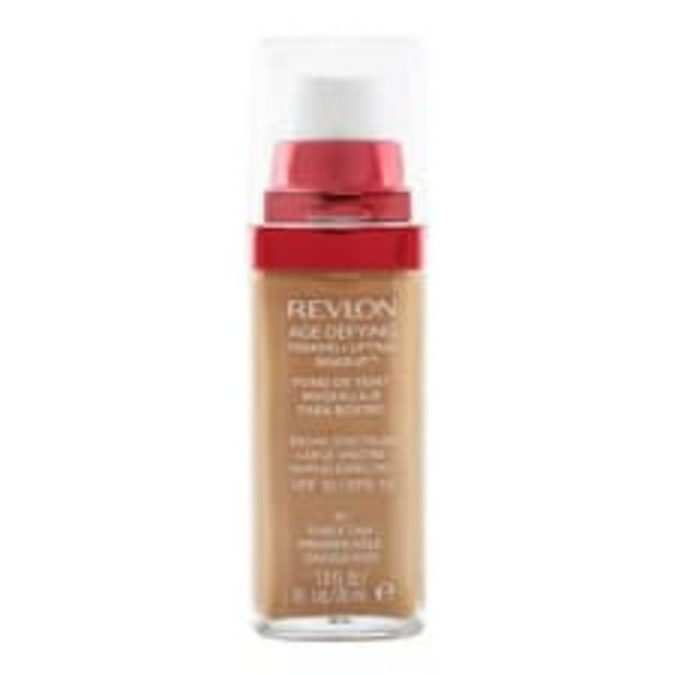 Oferta de Maquillaje líquido Revlon Age Defying 70 Early Tan 30 ml por $263