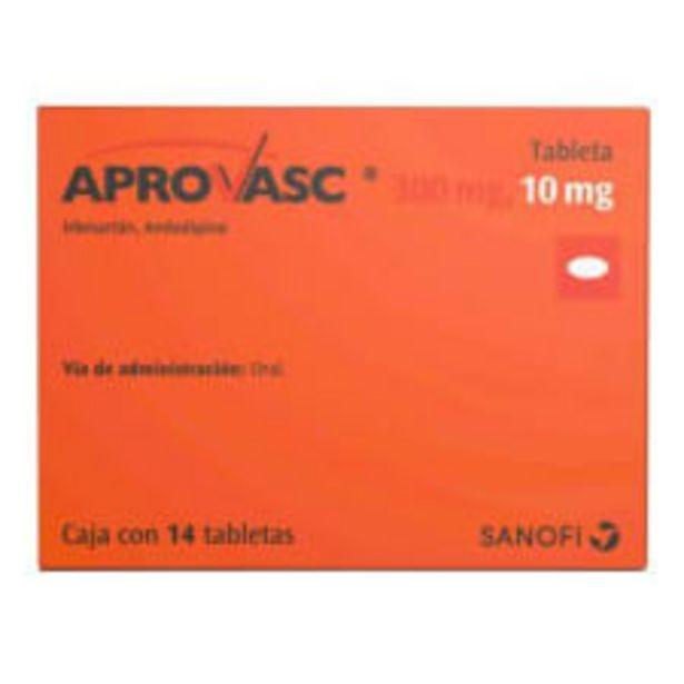 Oferta de Aprovasc 300 mg/10 mg 14 tabletas por $781