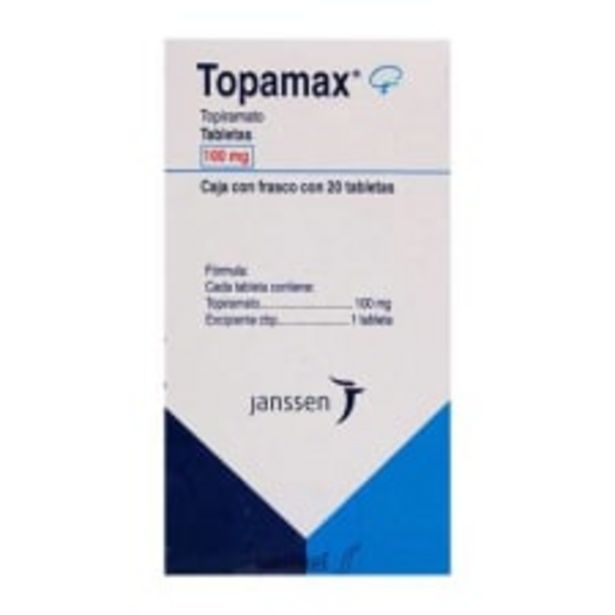 Oferta de Topamax 100 mg 20 tabletas por $1209