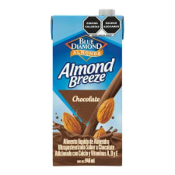 Oferta de Alimento líquido Blue Diamond Almond Breeze sabor chocolate 946 ml por $46.9