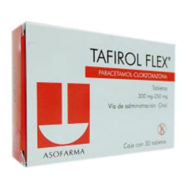 Oferta de Tafirol Flex 300 mg/250 mg 30 tabletas por $523