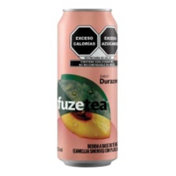 Oferta de Té negro Fuze Tea en lata sabor durazno 453 ml por $10