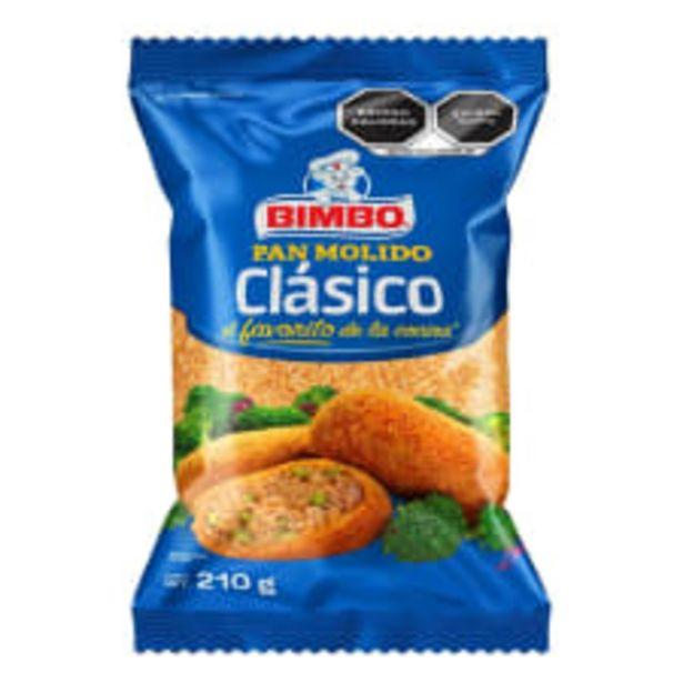 Oferta de Pan molido Bimbo clásico 210 g por $15.5