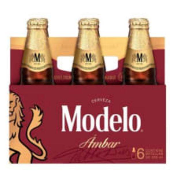 Oferta de Cerveza Modelo ámbar 6 botellas de 355 ml c/u por $99