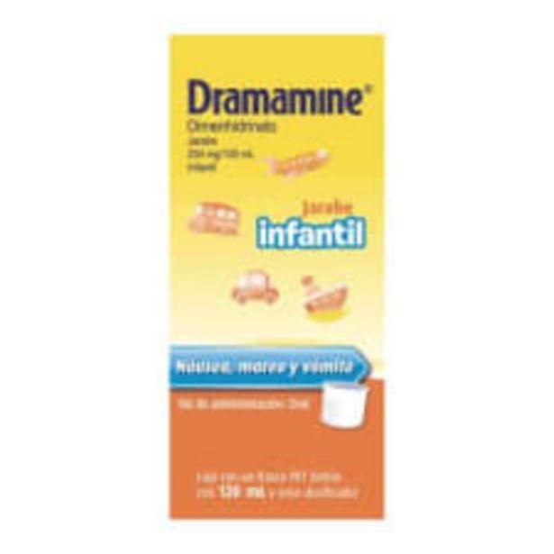Oferta de Dramamine 250 mg/100 ml jarabe infantil 120 ml por $115